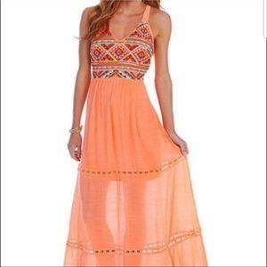 GB Gianni Bini Boho Maxi dress